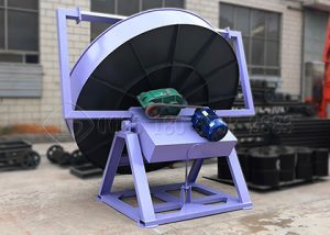 Customized pan granulator