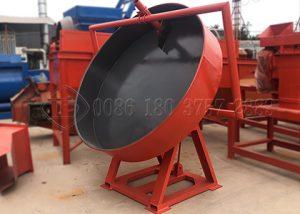 Disc pan granulator