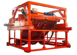Huge chain plate type compost turner for hadling orgnaic waste