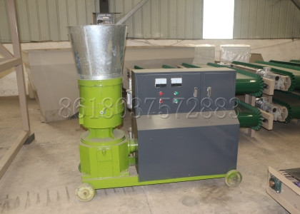 Flat Die Organic Fertilizer Pelleting Machine