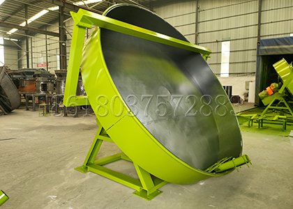 Pan Compost Pellet Machine